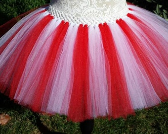 Candycane Tutu, Christmas Tutu, Pageant Tutu, Winter Run, Toddler Tutu, Baby Tutu, Infant Tutu, Elf Tutu, Christmas Outfit, First Chirstmas