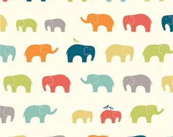 Ellie Fam Elephants From Birch Organic Fabric's Just For Fun Collection by Jay-Cyn Designs
