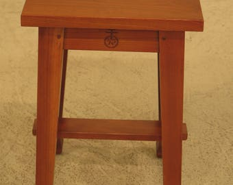 44224EC: STICKLEY Roycroft Model Cherry Tabouret Occasional Table
