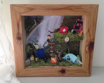 Miniature Camping Box
