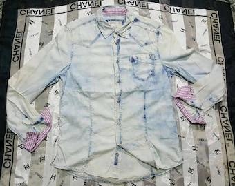 Vintage guess men shirt