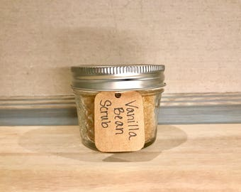 Vanilla Bean Brown Sugar Scrub