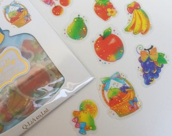 Bright Fruit JamJelly Sticker Flake Pack