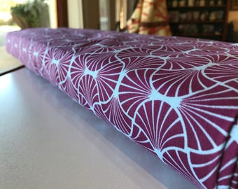 Joel Dewberry Fabric by the Yard - Heirloom - Empire Weave in Amethyst - Quilter's Cotton