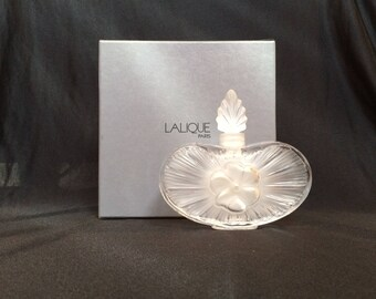 LALIQUE - CLARISSE perfume bottle with Stopper - model 11317 - new in box