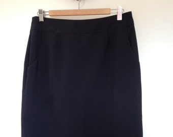 Blue Estee Lauder skirt