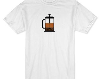 French Press Pixel Art Men's T-shirt