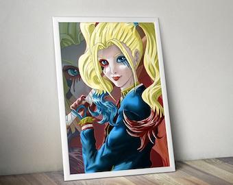 Harley Quinn Illustration