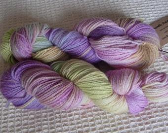 Hand Dyed Merino DK Yarn In Rainbow Colours