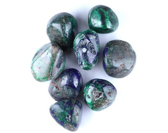 Malachite and Azurite, Tumbled Stones by Weight!