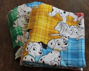 Vintage Disney 101 Dalmatians FULL Bed Sheet SET