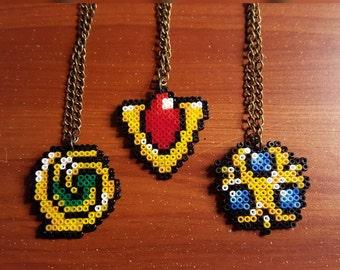 Legend of Zelda Spiritual Stone Necklaces