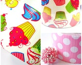 Items Similar To Neon Cupcakes Or Pink Polka Dot Duct Tape