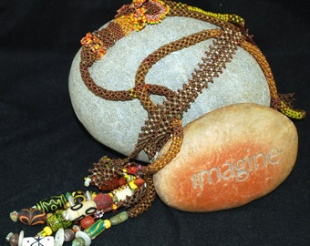 Touch of Africa Lariat