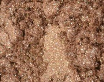 Shimmering Brown Eye Shadow Pigment Mica Brown Epoxy Colour Soap Making Colorant