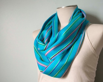25% off: Mexican Infinity Scarf - Cyan