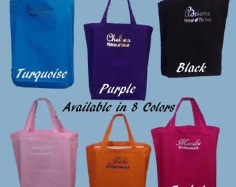 Custom Tote Bags, Bridesmaid Totes , Bridesmaid Gifts , Bridesmaid Tote Bag, Personalized Tote Bags, Personalized bridesmaid  bags