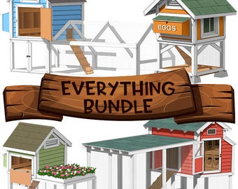 Chicken Coop Plans - Everything Bundle