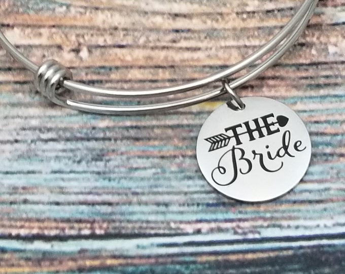 The Bride Customizable Expandable Bangle Charm Bracelet, choose your charms, create your style, design your bracelet,