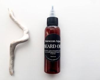 Barber Shop Beard Oil | Moroccan Argan | Face and Beard Conditioner | Beard Treatment