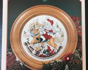 Stoney Creek Collection - Santa Christmas plate 1994