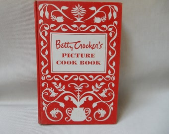 Betty Crocker's Picture Cook Book, 1950 First Edition, First Printing