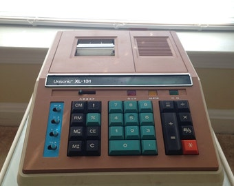 Vintage Electronic Printing Calculator