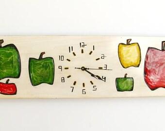 Apple Clock_Horloge Pomme