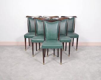 Paolo Buffa Dining Chairs - Set of 6