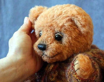 "PATTERN of Artist Teddy Bear Archy 11,5 "" in PDF format"
