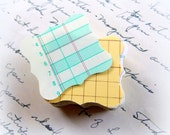 Vintage Ledger Paper Flourish Journal Tags / 25 Tags / Mini Tags