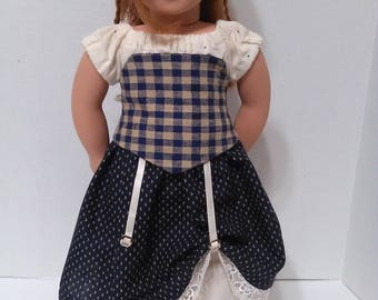 "Steam Punk Outfit For 18"" American Girl Doll, 18 inch Doll Clothes. FREE SHIPPING!"