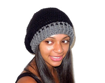 Crochet Slouchy Hat, Slouchy, Adult, Women, Teen, Ready To Ship,