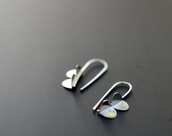 Sterling Silver Earrings - Mini Wing Earrings