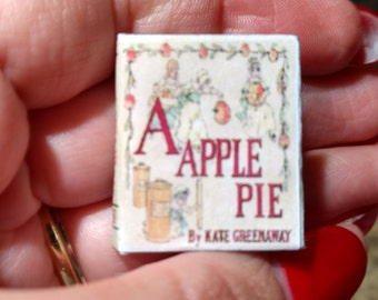 Dolls House 12th Scale A Apple Pie miniature book kit form