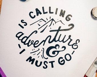 Adventure || Digital Download (3 Colors)