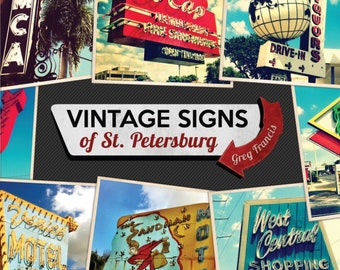 Vintage Signs of St. Petersburg Photo Book