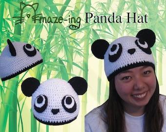 Amaze-ing Panda Hat - Made to Order