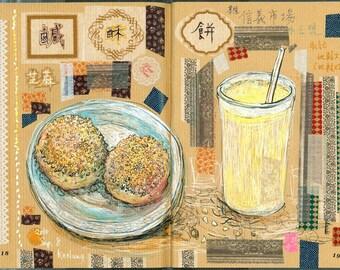 Food & Drink II  / 飲食記二 (Art Zine - Artist's Book)