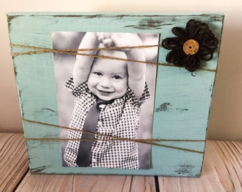 Picture Frame - Rustic Picture Frames - Wood Picture Frame - Rustic Frames - Wood Frame - Rustic Home Decor - Rustic Wall Decor - Frame