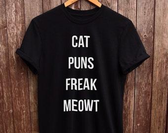 Funny Cat Tshirt - funny cat shirt, cat prints, cat lady tshirt, i love cats tshirt, tumblr cat tshirt, cat owner tshirt, cat shirt