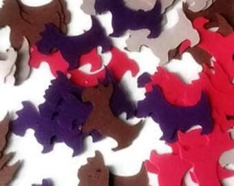 Puppy Confetti,Dog Cutouts,Dog Birthday Confetti, Animal Lover Embellishments