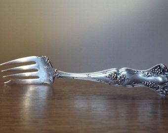 Cold Meat Fork ~ Vintage Grape ~ Serving Fork ~ 1847 Rogers Bros. ~ Vintage Grape Silver Plate