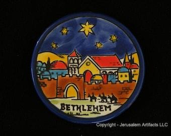 LIQUIDATION 85% OFF- Ceramic Handmade Ornaments from Holy Land - 84 Ceramic Ornaments
