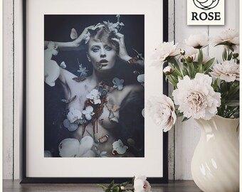 "Photography / Fine Art - Artistic Print ""Anthophobia"""