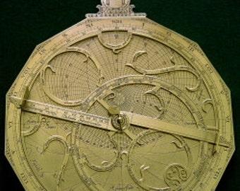 Erasmus Habermel astrolabe
