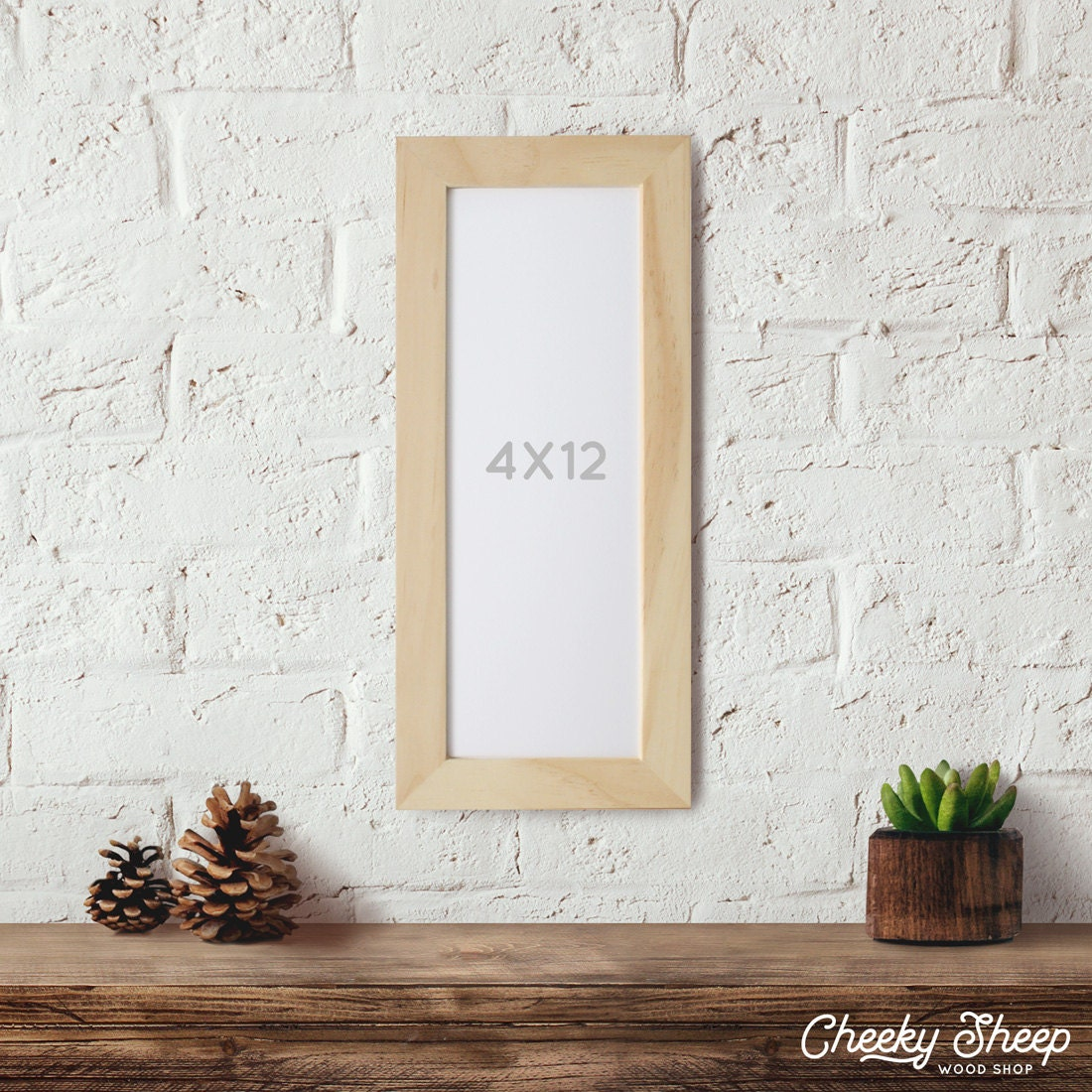 4x12 Picture Frame, Art Print frames, Panoramic Photo Frame ...