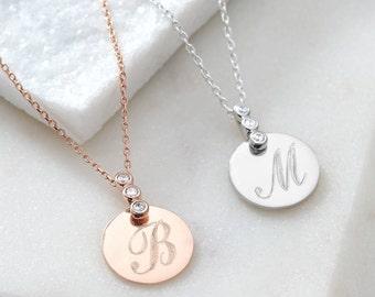 Personalised Precious Metal Necklace (HBN78 / 42 S/R)