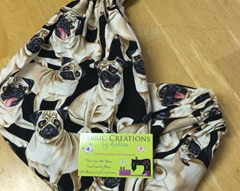 The *Happy Andi* Hanging Grocery Bag Holder   Dogs, Pugs,Dogs of ETSY, Pets