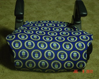 Air Force print  toddler booster seat cover--booster seat not included